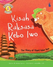 Cover Kisah Raksasa Kebo Iwo: The Story of Giant Kebo Iwo oleh Suroso, Suhartanto