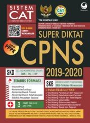 Super diktat CPNS CAT 2019-2020 by Tim Kompas Ilmu Cover
