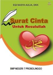 Cover Surat Cinta untuk Rosulullah oleh EQI NASYA AULIA, DKK