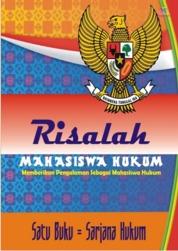 Cover Risalah Mahasiswa Hukum oleh Idik Saeful Bahri