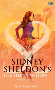 Cover Target Utama (The Silent Widow) oleh Tilly Bagshawe & Sidney Sheldon