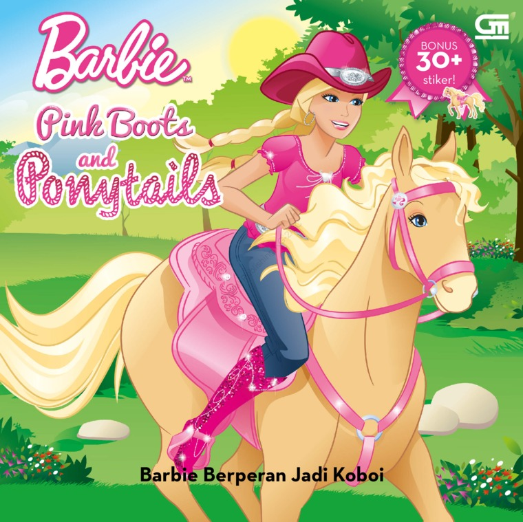 Barbie Pink Boots and Ponytails: Barbie by Mattel Digital Book