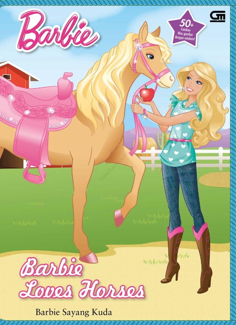 Barbie Sayang Kuda by Mattel Digital Book