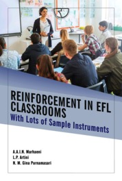 Cover Reinforcement in EFL Classrooms: With Lots of Sample Intruments oleh A.A.I.N. Marhaeni, dkk.