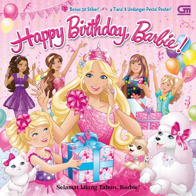 Barbie: Selamat Ulang Tahun, Barbie! (Happy Birthday, Barbie!) by Mattel Digital Book