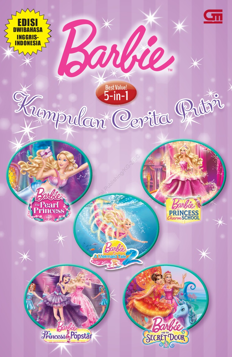 Barbie 5 in 1: Kumpulan Cerita Putri 5-ini-1 by Mattel Digital Book