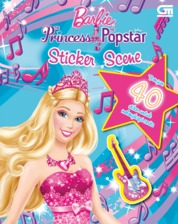 Cover Barbie The Princess & Popstar oleh Mattel