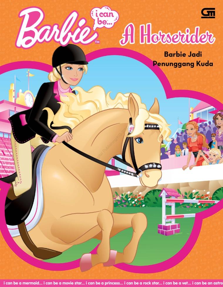 Buku Digital Barbie I Can Be: Barbie Jadi Penunggang oleh Mattel