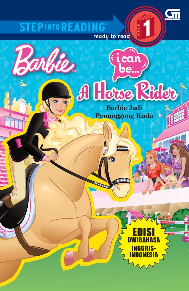 Buku Digital Barbie I Can Be: Barbie Jadi Penunggang Kuda oleh Mattel