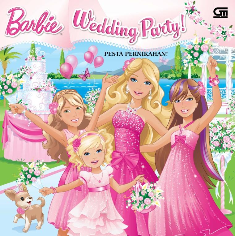 Buku Digital Barbie: Pesta Pernikahan oleh Mattel