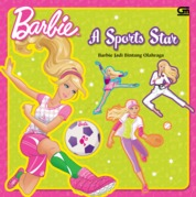 Cover Barbie Jadi Bintang Olahraga oleh Mattel