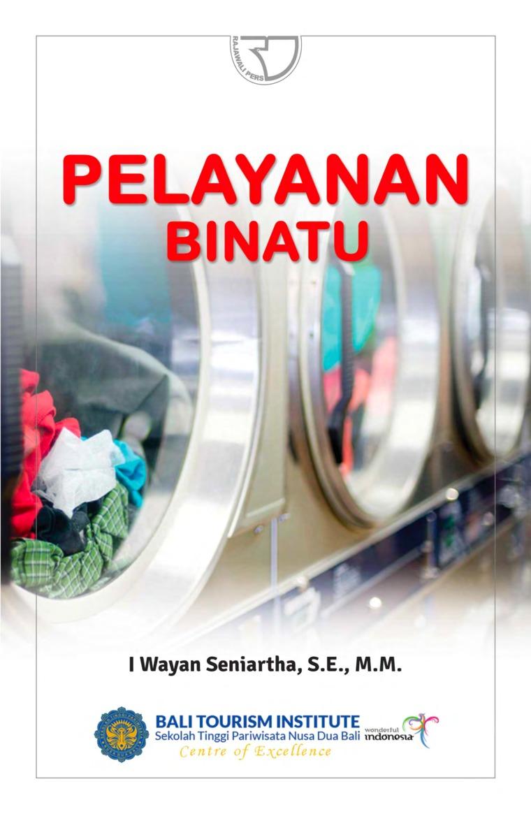 Buku Digital Pelayanan Binatu oleh I Wayan Seniartha, SE., MM.