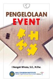Cover Pengelolaan Event oleh I Nengah Wirata SE M.Par