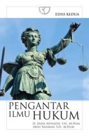 Cover Pengantar Ilmu Hukum (Zaeni) oleh H. Zaeni Asyhadie, S.H., M.Hum