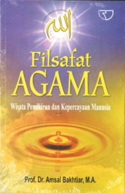 Cover Filsafat Agama oleh Amsal Bakhtiar