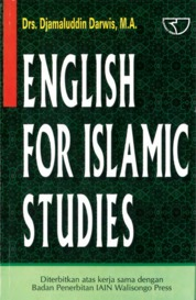 English For Islamic Studies by Drs. Djamaluddin Darwis, M.A. Cover
