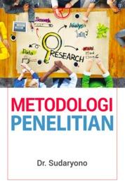 Metodologi Penelitian by Dr. Sudaryono Cover