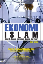 Cover Ekonomi Islam: Sejarah, Konsep, Instrumen, Negara, dan Pasar oleh Prof. Dr. H. Akhmad Muhajahidin, M.Ag.