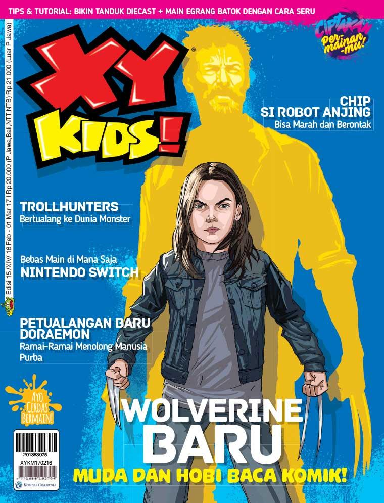 Majalah Digital XY KIDS ED 15 Februari 2017