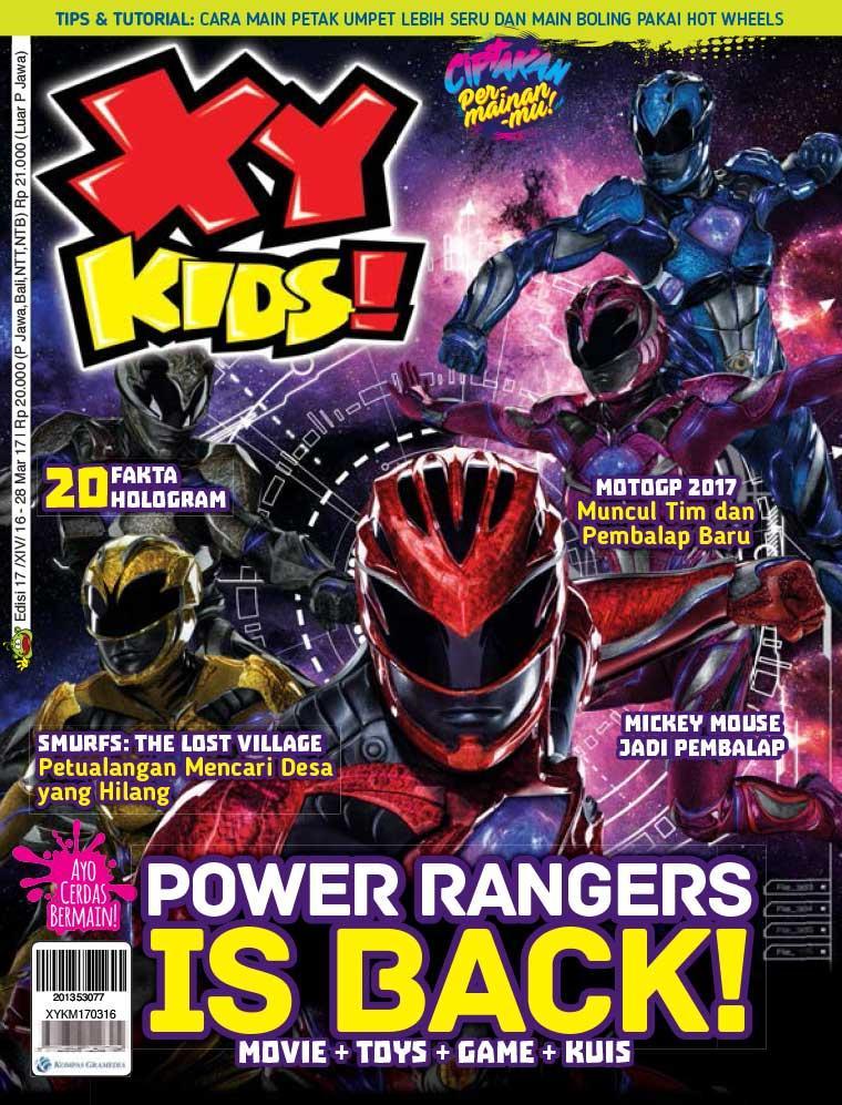 Majalah Digital XY KIDS ED 17 Maret 2017