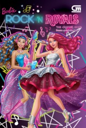 Cover Barbie in Rock 'n Royals: The Chapter Book oleh Mattel