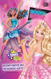 Cover Barbie in Rock 'n Royals: Bernyanyilah Sepenuh Hati oleh Mattel