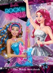 Cover Barbie in Rock 'n Royals: The Movie Storybook oleh Mattel