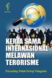 Cover Kerja Sama Internasional Melawan Terorisme oleh Poltak Partogi Nainggolan