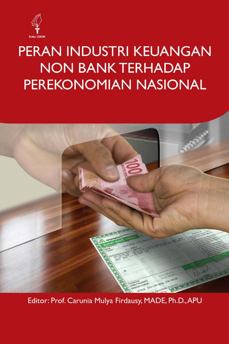 Buku Digital Peran Industri Keuangan Non Bank terhadap Perekonomian Nasional oleh Carunia Mulya Firdausy