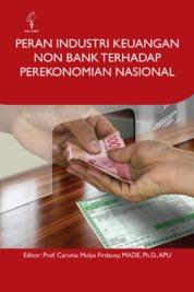 Cover Peran Industri Keuangan Non Bank terhadap Perekonomian Nasional oleh Carunia Mulya Firdausy