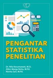 Pengantar Statistika Penelitian by Dr. Nila Kesumawati, M.Si. Cover
