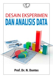 Desain Eksperimen dan Analisis Data by Prof. Dr. N.Dantes Cover