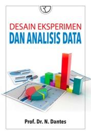 Cover Desain Eksperimen dan Analisis Data oleh Prof. Dr. N.Dantes