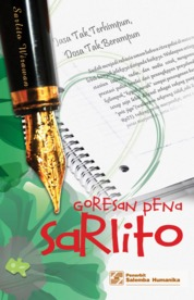 Cover Goresan Pena Sarlito oleh Sarlito W. Sarwono (alm.)