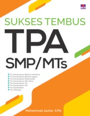 Sukses Tembus TPA SMP/MTs by Mohammad Jauhar, S.Pd. Cover