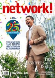 Cover Majalah network! Agustus 2019
