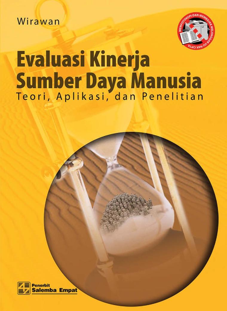 Buku Digital Evaluasi Kinerja Sumber Daya Manusia oleh Wirawan