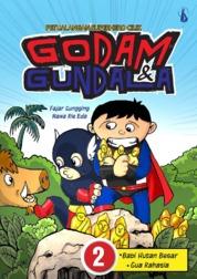 Petualangan Superhero Cilik - Godam dan Gundala 2: Babi Hutan Besar dan Gua Rahasia by Fajar Sungging dan Nawa Rie Eda Cover