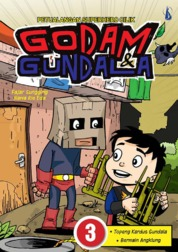 Petualangan Superhero Cilik - Godam dan Gundala 3: Topeng Kardus Gundala dan Bermain Angklung by Fajar Sungging dan Nawa Rie Eda Cover