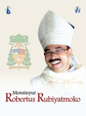 Cover Monsinyur Robertus Rubiyatmoko oleh Redaksi Kanisius