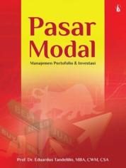Pasar Modal: Manajemen Portofolio dan Investasi by Prof. Dr. Eduardus Tandelilin, MBA, CWM, CSA Cover