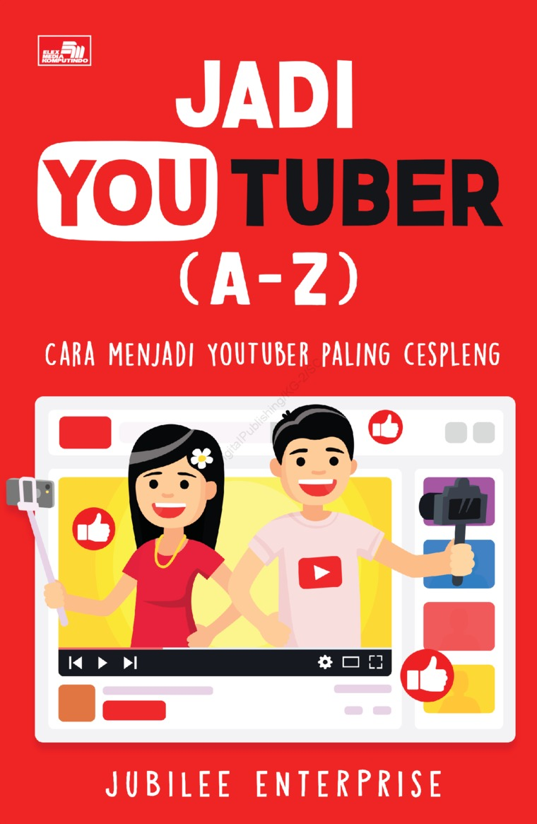 Buku Digital Jadi YOUTUBER (A-Z) oleh Jubilee Enterprise