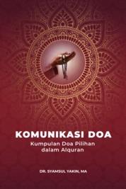Cover Komunikasi Doa oleh Dr. Syamsul Yakin, MA