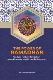 Cover The Power of Ramadhan oleh Dr. Syamsul Yakin, MA