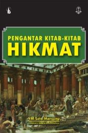 Pengantar Kitab-Kitab Hikmat by YM Seto Marsunu Cover