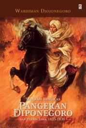 Sejarah Singkat Diponegoro by Wardiman Djojonegoro Cover