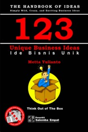Cover 123 Unique Business Ideas: 123 Ide Bisnis Unik oleh Metta Yulianto