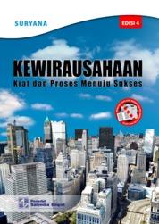 Cover Kewirausahaan: Kiat dan Proses Menuju Sukses Edisi ke-4 oleh Suryana