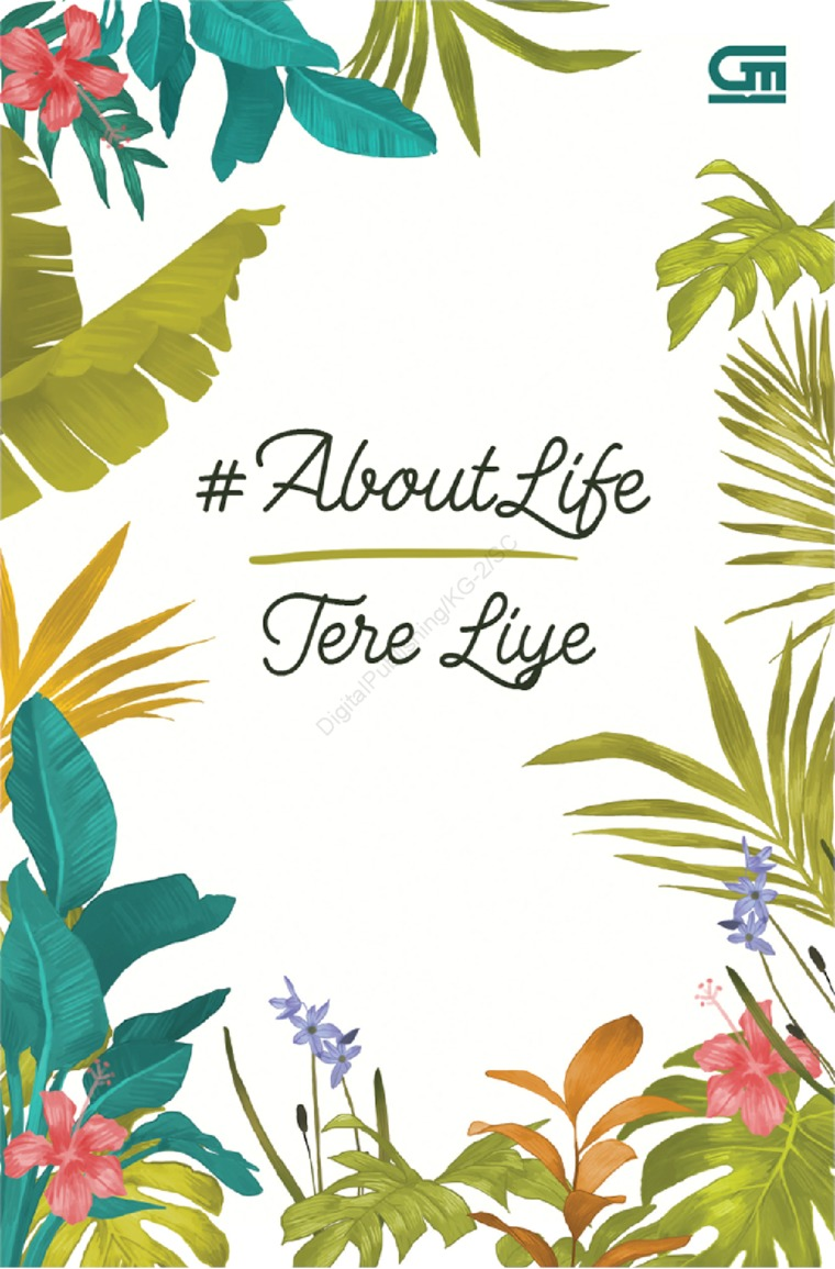 Buku Digital #AboutLife oleh Tere Liye