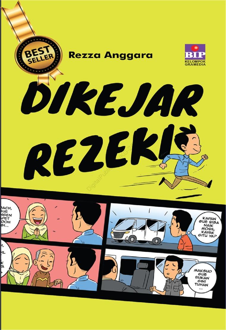 Buku Digital Dikejar Rejeki oleh Rezza Anggara